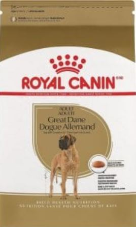 great danes royal canin adult dry food